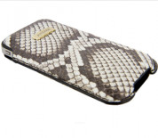 FitCase Pouch Snake Skin - genuine snake leather case for iPhone 4/4S 7