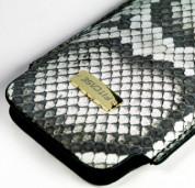 FitCase Pouch Snake Skin - кожен калъф от естествена змийска кожа за iPhone 4/4S 3