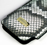 FitCase Pouch Snake Skin - genuine snake leather case for iPhone 4/4S 3