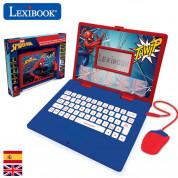 Lexibook Spider-Man Bilingual Educational Laptop - образователен детски лаптоп играчка (светлосин) 1
