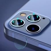 Baseus Gem Lens Film (SGAPIPH61P-JT02) - предпазни стъклени лещи за камерата на iPhone 12 Pro, iPhone 12 Pro Max (прозрачни) (2 броя) 7