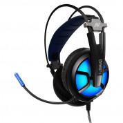 Abko Ncore LED 7.1 Gaming Headset B581 - RGB гейминг слушалки с микрофон и USB връзка (черен) 1