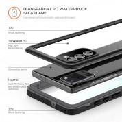 Waterproof Heavy Duty Case - ударо и водоустойчив кейс за Samsung Galaxy S21 Plus (черен) 2