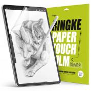 Ringke Paper Touch Film Screen Protector Hard - качествено защитно покритие (подходящо за рисуване) за дисплея на iPad Pro 12.9 M1 (2021), iPad Pro 12.9 (2020), iPad Pro 12.9 (2018) (2 броя)