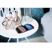 Zens Aluminium Dual 5-Coils Wireless Charger with USB-C 45W Charger ZEDC11B00 - двойна станция за безжично зареждане на Qi съвместими устройства и 45W захранване (черен) 4