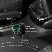 4smarts Car Charger Fast 45W with PD - зарядно за кола с 2xUSB-C изходи (черен) 4