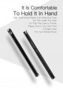 Dux Ducis Universal Case Size B - универсален кожен калъф, тип портфейл за смартфони от 5.2 до 5.5 инча (черен) 10