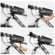 Wildman ES3 Waterproof Bicycle Bag 1L - универсален калъф за рамката на колело (черен) 3