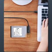 Ugreen HDD SSD SATA 2.5 USB-A Adapter Cable - външен адаптер (кабел) за 2.5 инча дискове (черен) 12
