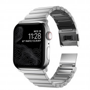 Nomad Strap Stainless Steel Band V2 - стоманена каишка за Apple Watch 42мм, 44мм (сребрист) 2