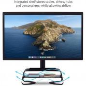 TwelveSouth Curve Riser - алуминиева повдигаща поставка за iMac и дисплеи (черен) 4