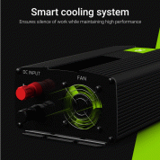 Инвертор за кола - Green Cell Voltage Car Inverter INV07 UPS For Furnances And Central Heating Pumps 300W  2