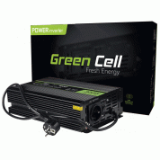 Инвертор за кола - Green Cell Voltage Car Inverter INV07 UPS For Furnances And Central Heating Pumps 300W