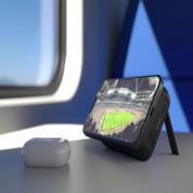 Zens Powerbank Dual with Kickstand ZEPP03M with MagSafe and Qi 4000 mAh - преносима външна батерия с безжично зареждане за iPhone с Magsafe и Qi съвместими устройства (черен) 2