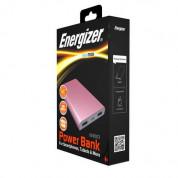 Energizer HighTech Power Bank 8000 mAh - преносима външна батерия с 2xUSB-A изходи за зареждане на мобилни устройства (розово злато) 9