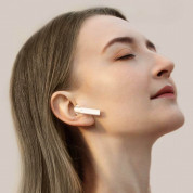 Baseus Encok W02 TWS In-Ear Bluetooth Earphones - безжични блутут слушалки със зареждащ кейс (бял) 7