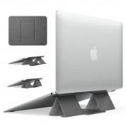 Ringke Folding Laptop Stand 2 - сгъавема, залепяща се към вашия компютър поставка за MacBook и лаптопи (сив)