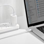 Baseus Superior USB-A to USB-C Cable 66W (CATYS-A02) - USB-C кабел с бързо зареждане за устройства с USB-C порт (200 см) (бял)  10