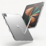 Ringke Fusion Case - удароустойчив хибриден кейс за iPad Pro 12.9 M1 (2021) (прозрачен) 2