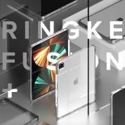 Ringke Fusion Case - удароустойчив хибриден кейс за iPad Pro 12.9 M1 (2021) (прозрачен) 1