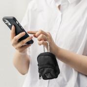 Ringke Two Pocket Mini Pouch - компактен органайзер с два джоба за кабели, слушалки, ключове и др. (бежов) 8