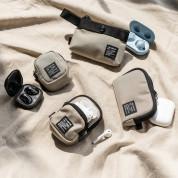 Ringke Two Way Pocket Mini Pouch  - компактен органайзер с един джоб за кабели, слушалки, ключове и др. (бежов) 2