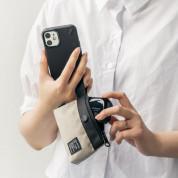 Ringke Two Way Pocket Mini Pouch  - компактен органайзер с един джоб за кабели, слушалки, ключове и др. (черен) 8