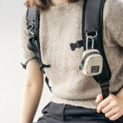 Ringke Block Pocket Mini Pouch  - компактен органайзер с един джоб за кабели, слушалки, ключове и др. (черен-прозрачен) 4