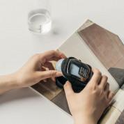 Ringke Block Pocket Mini Pouch  - компактен органайзер с един джоб за кабели, слушалки, ключове и др. (черен-прозрачен) 2