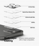 Ringke Camera Lens Glass - комплект 2 броя предпазни стъклени протектора за камерата на iPhone 12 Pro (прозрачен) 5