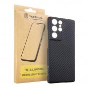 Tactical MagForce Aramid Case - кевларен кейс за Samsung Galaxy S21 Ultra (черен)  2