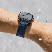 Uniq Aspen Adjustable Braided Band  - текстилна каишка за Apple Watch 42мм, 44мм (тъмносив) 7
