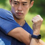Uniq Aspen Adjustable Braided Band  - текстилна каишка за Apple Watch 42мм, 44мм (тъмносив) 6