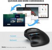 TeckNet EWM01576BA01 Ergonomic Wireless Mouse - ергономична оптична мишка (за Mac и PC) (черен) 6