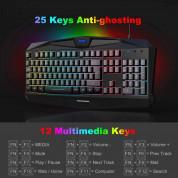 TeckNet EGK01793BK02 Wired Gaming Keyboard - геймърска клавиатура с LED подсветка (за PC) (черен) 2