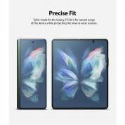 Ringke Invisible Defender Full Coverage Screen Protector - защитни покрития за двата дисплея на Samsung Galaxy Z Fold 3 1