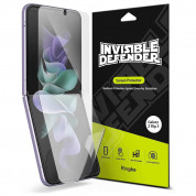 Ringke Invisible Defender Screen Protector - защитни покрития за дисплея на Samsung Galaxy Z Flip 3 (2 броя)