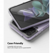 Ringke Invisible Defender Screen Protector - защитни покрития за дисплея на Samsung Galaxy Z Flip 3 (2 броя) 6