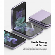 Ringke Invisible Defender Screen Protector - защитни покрития за дисплея на Samsung Galaxy Z Flip 3 (2 броя) 2