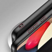 Dux Ducis Fino Series Case - хибриден удароустойчив кейс за Samsung Galaxy A02s (черен) 6