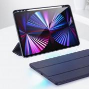 DUX DUCIS Osom TPU Gel Tablet Cover - термополиуретанов (TPU) кейс и поставка за iPad Pro 11 M1 (2021), iPad Pro 11 (2020), iPad Pro 11 (2018) (розов) 11