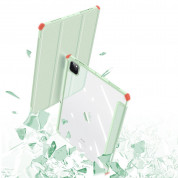 DUX DUCIS Toby Tablet Case - хибриден удароустойчив кейс с отделение за Apple Pencil 2 за iPad Air 4 (2020) (зелен) 9