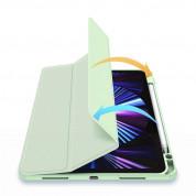 DUX DUCIS Toby Tablet Case - хибриден удароустойчив кейс с отделение за Apple Pencil 2 за iPad Air 4 (2020) (зелен) 7