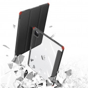 DUX DUCIS Toby Tablet Case - хибриден удароустойчив кейс с отделение за Apple Pencil 2 за iPad Air 4 (2020) (черен) 10