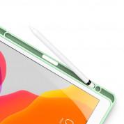 DUX DUCIS Toby Tablet Case - хибриден удароустойчив кейс с отделение за Apple Pencil за iPad 9 (2021), iPad 8 (2020), iPad 7 (2019) (зелен) 3