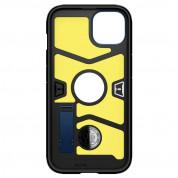 Spigen Tough Armor Case - хибриден кейс с най-висока степен на защита за iPhone 13 mini (син) 6