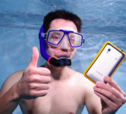 Krusell SEaLABox waterproof mobile case for mobile phones (white) 7