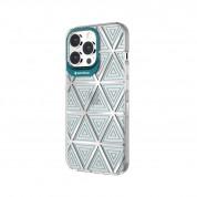 SwitchEasy Artist Aurora Case - дизайнерски хибриден удароустойчив кейс за iPhone 13 Pro Max (прозрачен)  2