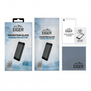 Eiger Mountian Glass Screen Protector 2.5D - калено стъклено защитно покритие за дисплея на iPhone 13 mini (прозрачен) 2