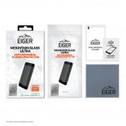 Eiger Mountian Glass Ultra Screen Protector 2.5D - калено стъклено защитно покритие с антибактериален слой за дисплея на iPhone 13 Pro Max (прозрачен) 1